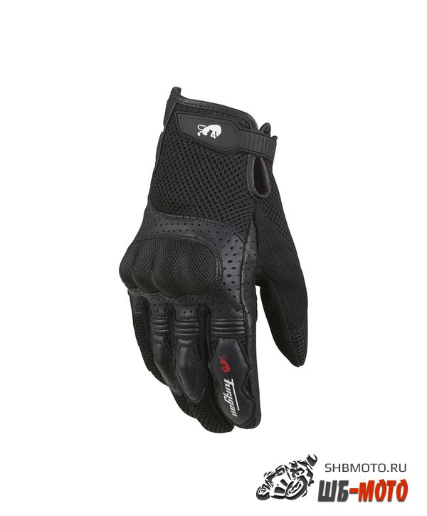 FURYGAN Перчатки TD12 кожа/сетка, Черн