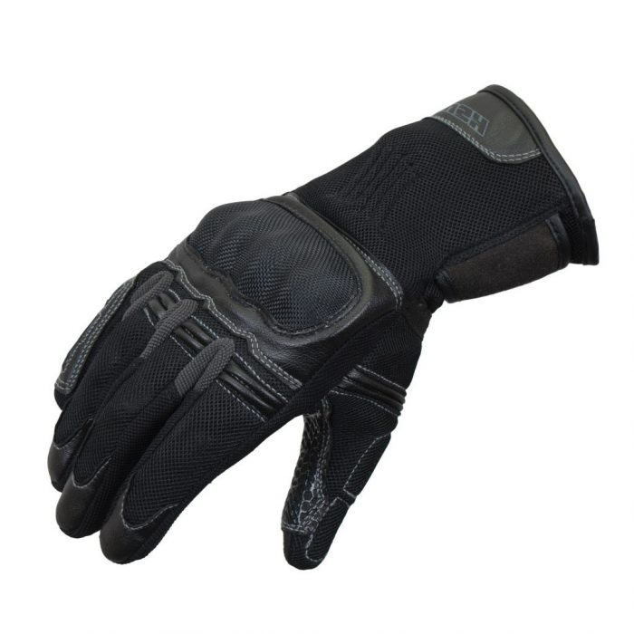 RUSH Перчатки EASY текстиль, цвет Черный