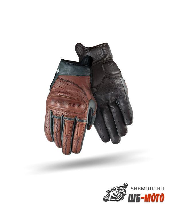 Перчатки SHIMA CALIBER BROWN