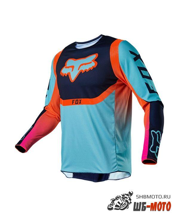 Мотоджерси Fox 360 Voke Jersey Aqua 2021