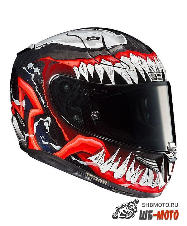 HJC Шлем RPHA 11 MARVEL MC1 VENOM 2