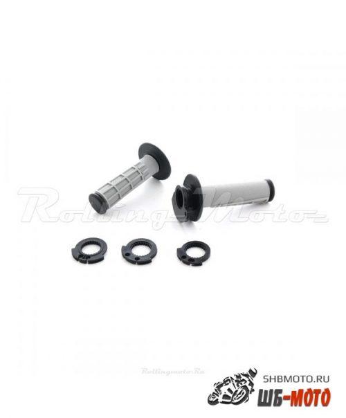 Ручки руля Грипсы lock-on + ручка газа SM-PARTS KTM/Husqvarna/Kawasaki/Yamaha