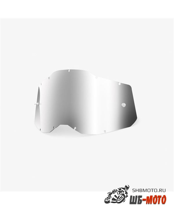 Линза 100% RC2/AC2/ST2 Replacement Lens Mirror Silver