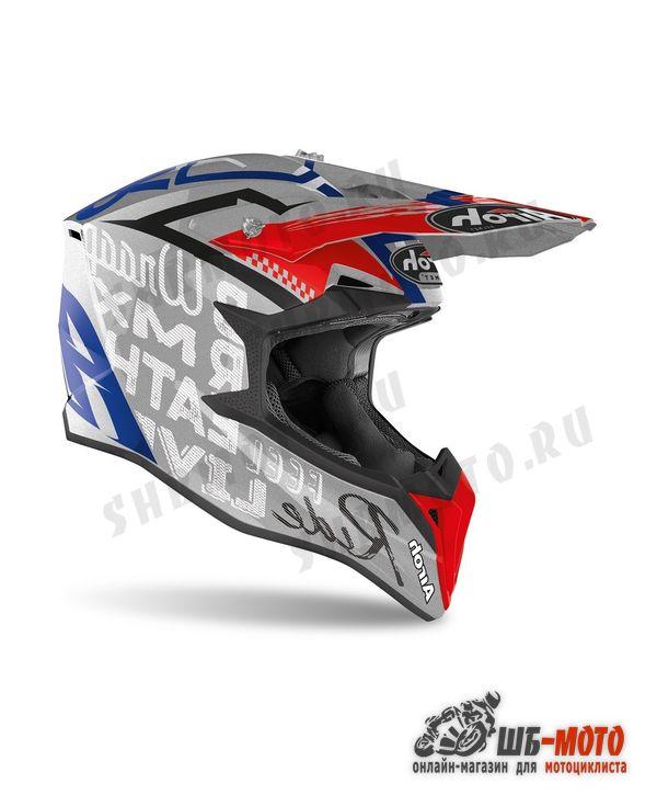 Airoh Шлем WRAAP Street Grey Metal Gloss